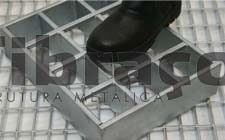 Floor grating reinforced model