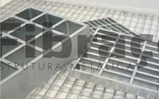 Floor gratings reinforced model